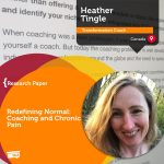 Research Paper: Redefining Normal: Coaching and Chronic Pain