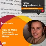 Research Paper: How To Make Employee Conversations Matter
