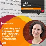 Research Paper: Coaching And Expansion Of Self Through Leadership Transitions