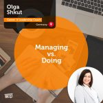 Power Tool: Managing vs. Doing