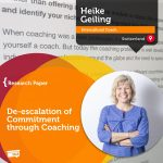 Research Paper: De-escalation of Commitment through Coaching
