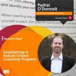 Research Paper: Establishing A Robust School Coaching Program
