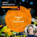 Power Tool: Urgent vs. Important