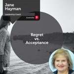 Power Tool: Regret vs. Acceptance