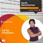 Research Paper: Lie by Omission