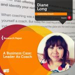 Research Paper: A Business Case: Leader As Coach