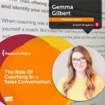 Research Paper: The Role Of Coaching In a Sales Conversation