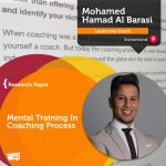 Research Paper: Mental Training in Coaching Process