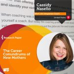 Research Paper: The Career Conundrums Of New Mothers