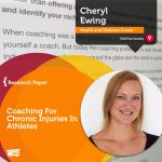 Research Paper: Coaching for Chronic Injuries in Athletes