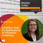 Research Paper: Intuition And Its Application In Powerful Listening