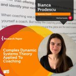 Research Paper: Complex Dynamic Systems Theory Applied To Coaching
