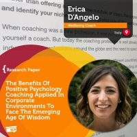 Erica D'Angelo Coaching Research Paper Positive Psychology