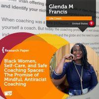 Glenda M Francis Coaching Research Paper Black Women Self Care