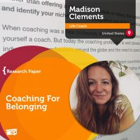 Madison Clements Coaching Research Paper Coaching For Belonging