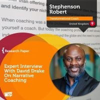 Stephenson Robert Interview on Narrative Coaching with David Drake