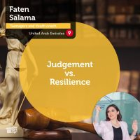 Faten Salama Coaching Tool Judgement vs Resilience