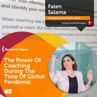 Faten Salama Coaching Research Paper The Power Of Coaching During The Time of Global Pandemic