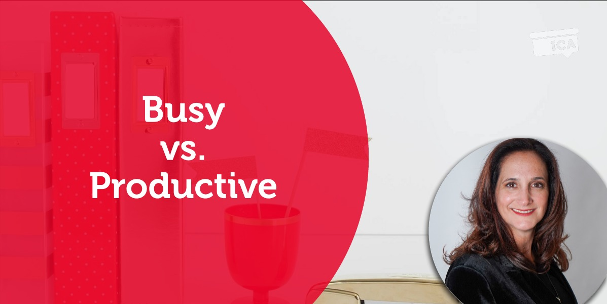 Power Tool: Busy vs.Productive