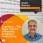 Research Paper: Coaching – The Right Tool For Enhancing  Employee Productivity