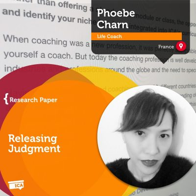 Phoebe Charn Coaching Research Paper on ReleasingJudgement