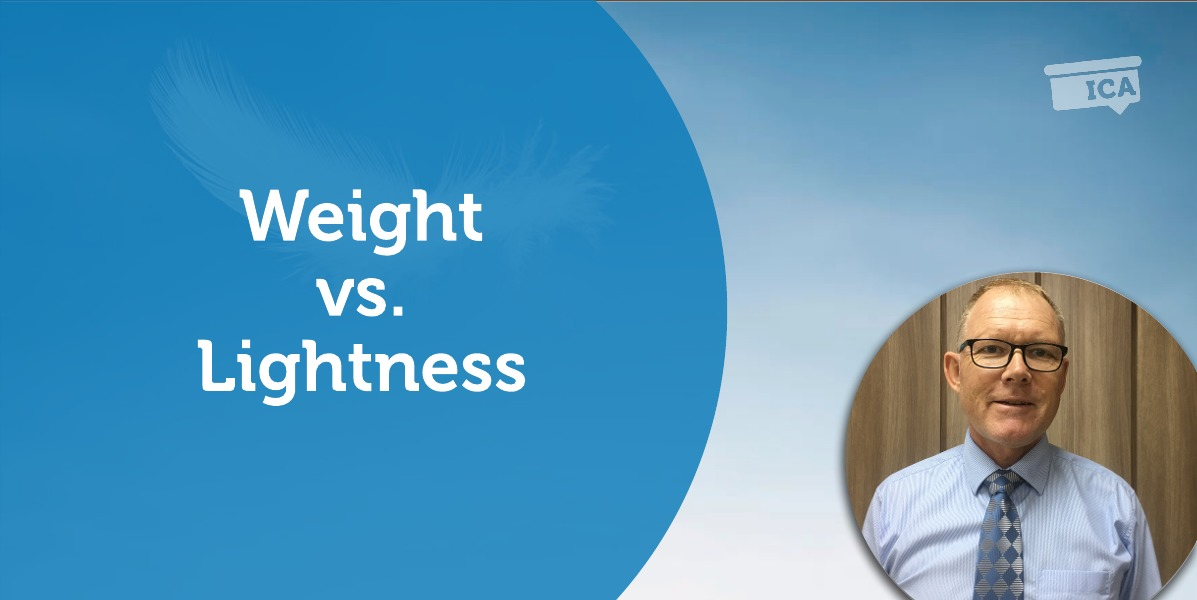 Power Tool: Weight vs. Lightness