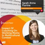 Research Paper: Impact Of Coaching On Working Moms In Multicultural Context