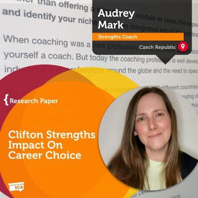 Clifton Strengths impact on career choices