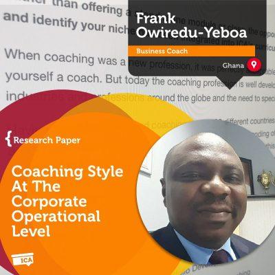 Frank Owiredu-Yeboa_Coaching_Research_Paper