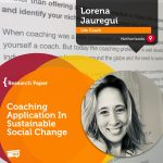 Research Paper: Coaching Application In Sustainable Social Change