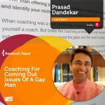 Research Paper: Coaching For Coming Out Issues Of A Gay Man