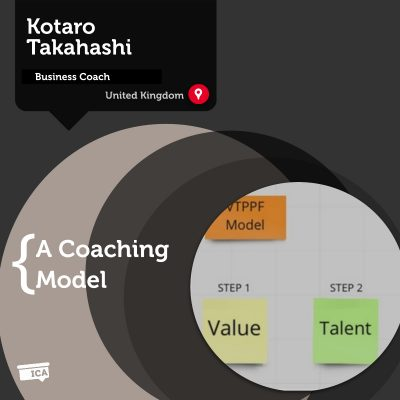VTPPF Business Coaching Model Kotaro Takahashi