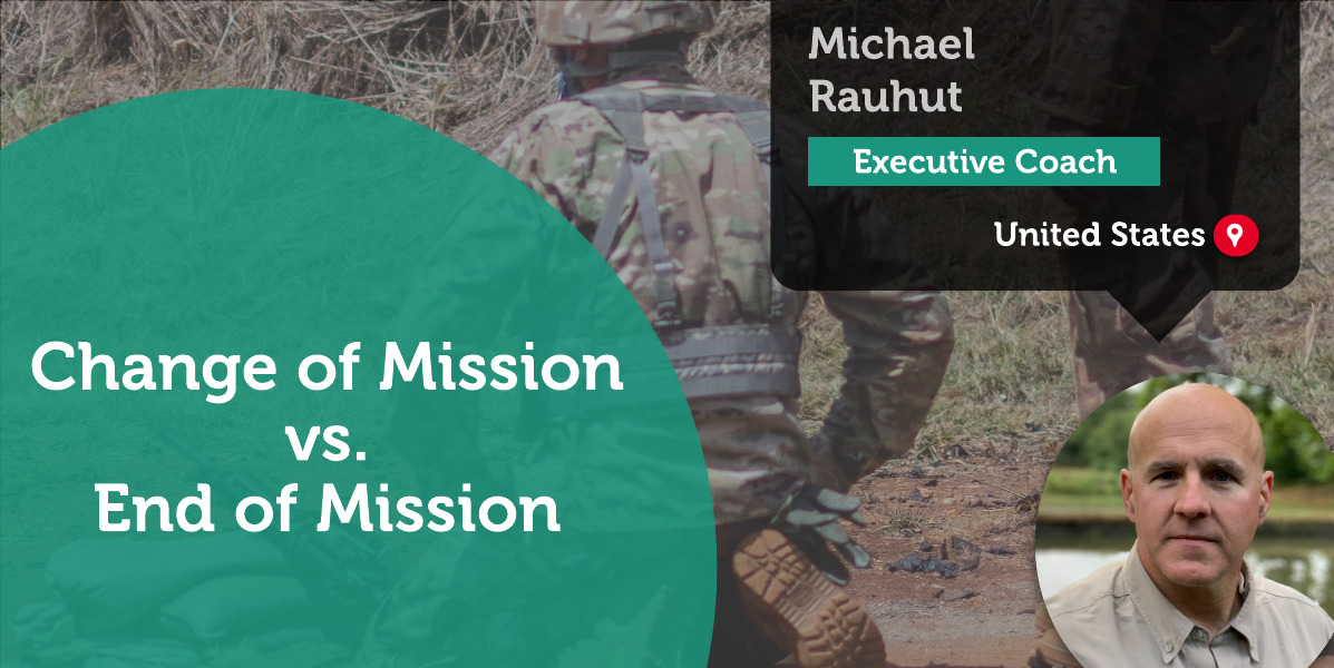 Change of Mission vs. End of Mission Michael Rauhut_Coaching_Tool