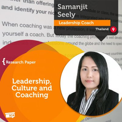 Leadership, Culture and Coaching Samanjit Seely_Coaching_Research_Paper