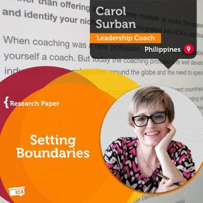 Setting Boundaries Carol Surban_Coaching_Research_Paper