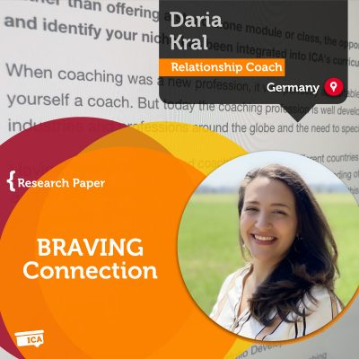 BRAVING Connection Daria Kral_Coaching_Research_Paper