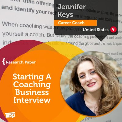 Coaching Business Interview Jennifer Keys_Coaching_Research_Paper