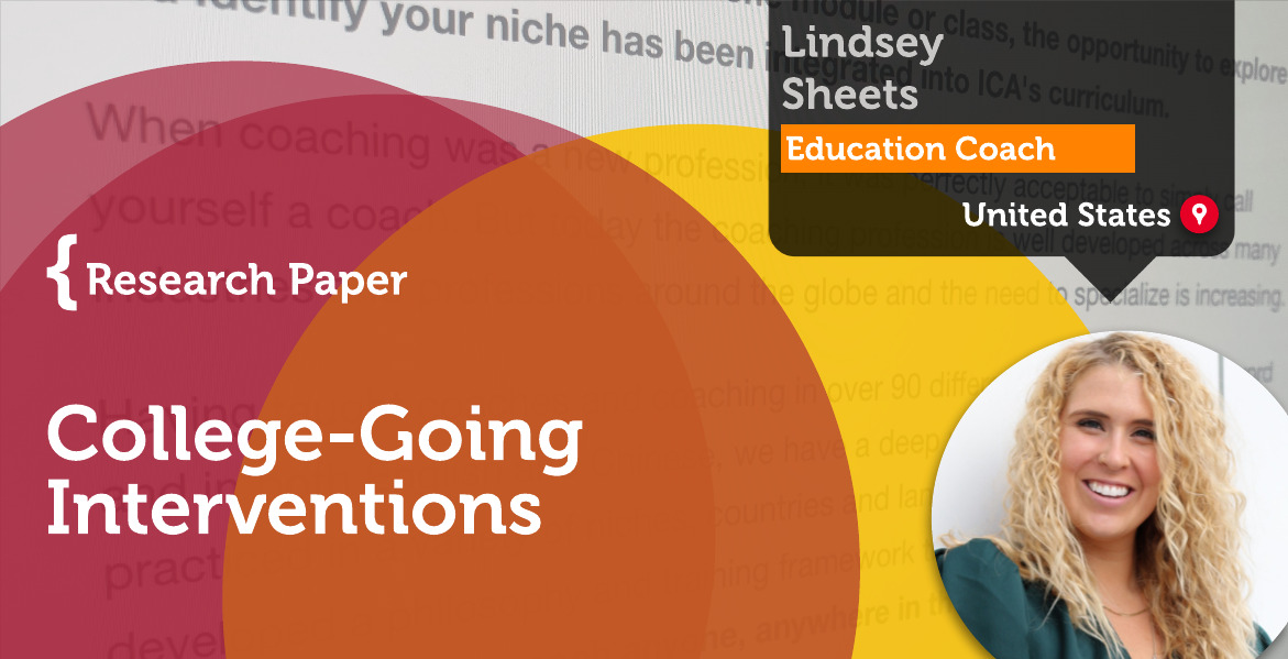 College-Going Interventions Lindsey Sheets_Coaching_Research_Paper