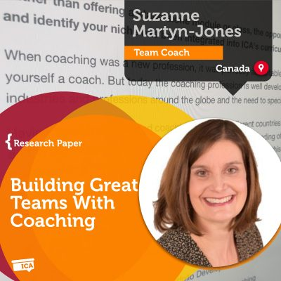 Building Great Teams With Coaching Suzanne Martyn-Jones_Coaching_Research_Paper