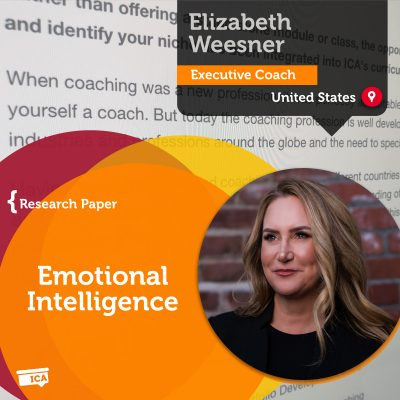Emotional Intelligence Elizabeth Weesner_Coaching_Research_Paper