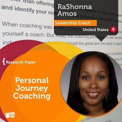 personal coaching journey RaShonna Amos_Coaching_Research_Paper