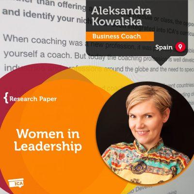 Women in Leadership Aleksandra Kowalska_Coaching_Research_Paper