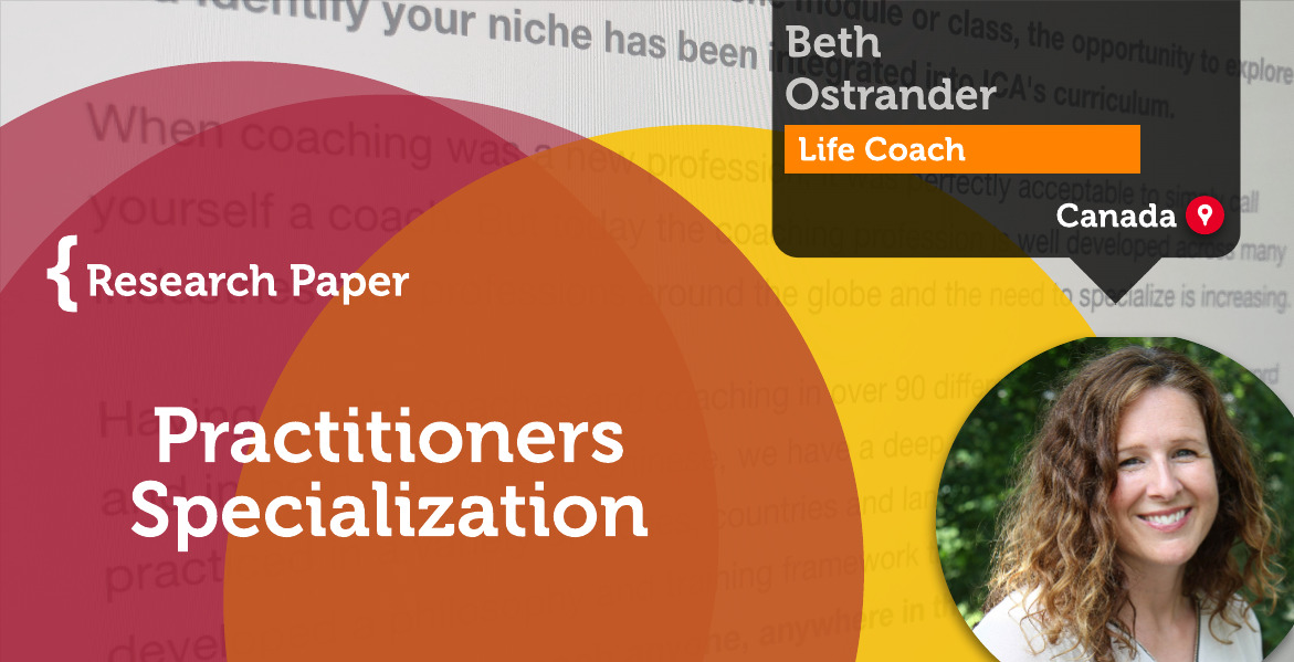 Practitioners Specialization Beth Ostrander_Coaching_Research_Paper