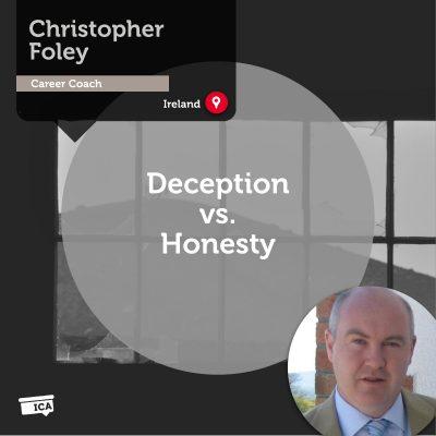 Deception vs. Honesty Christopher Foley_Coaching_Tool