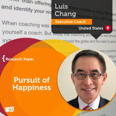 Pursuit of Happiness Luis Chang_Coaching_Research_Paper